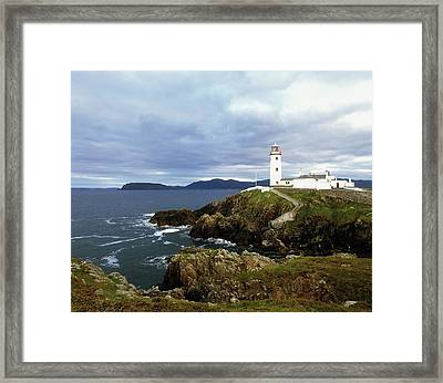 Fanad Head Lighthouse, Co Donegal Framed Print