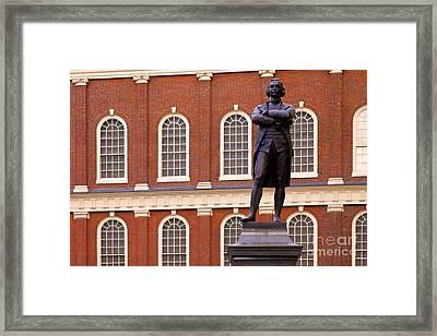 Faneuil Hall Framed Print