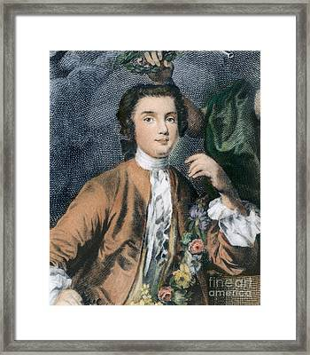 Farinelli (1705-1782) Framed Print by Granger