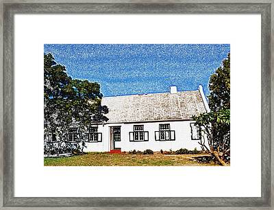 Farm House Framed Print by Werner Lehmann