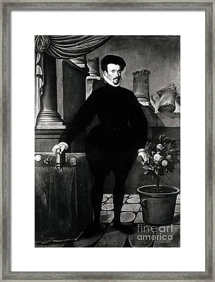 Felix Plater, Swiss Physician Framed Print by Science Source