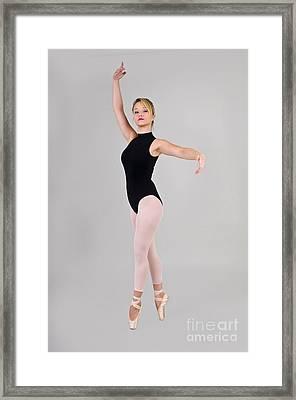 Female Dancer Framed Print by Ilan Rosen