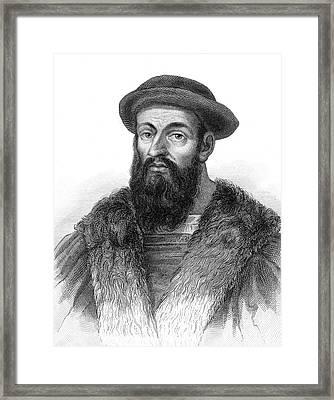 Ferdinand Magellan Framed Print by Granger