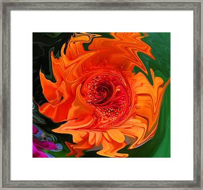Fertility Chakra Framed Print