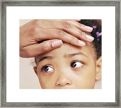 Feverish Child Framed Print
