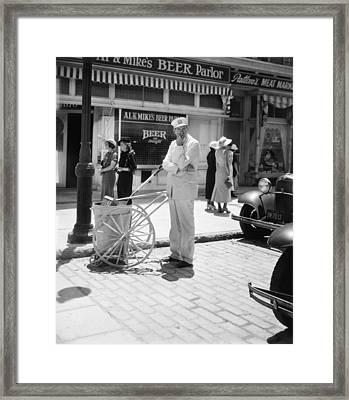 Film Still: Street Cleaner Framed Print by Granger