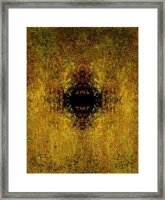 Fire Framed Print by Christopher Gaston