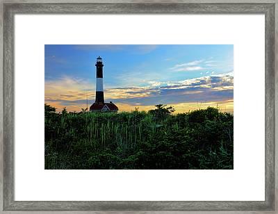 Fire Island Lighthouse Framed Print by Rick Berk