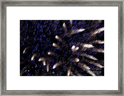 Fireworks Light Framed Print