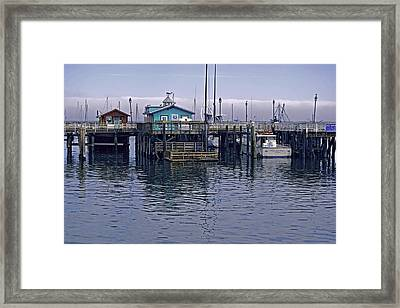 Fishermans Warf Monterey Framed Print