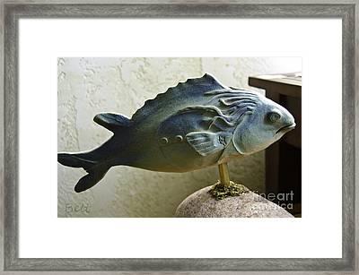 Fishers Of Men Framed Print by Christine Belt