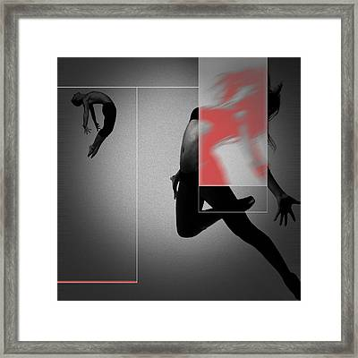 Flight Framed Print by Naxart Studio