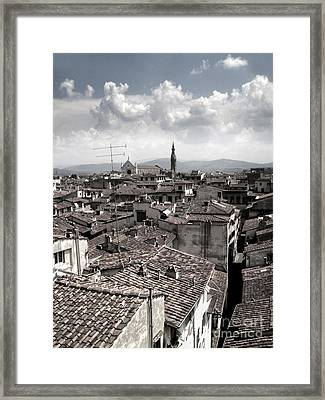 Florence Italy - 02 Framed Print by Gregory Dyer