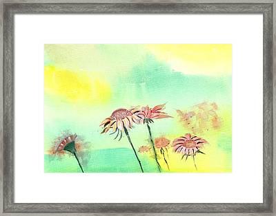 Flowers 2 Framed Print by Anil Nene
