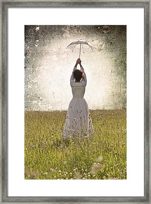 Flying Away Framed Print by Joana Kruse