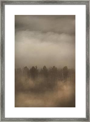 Fog Wall Framed Print by Andy Astbury