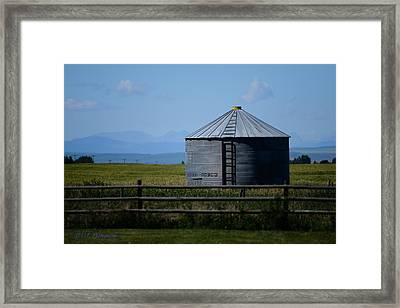Foothills Farm Framed Print