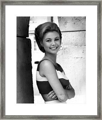 For Love Or Money, Mitzi Gaynor, 1963 Framed Print by Everett