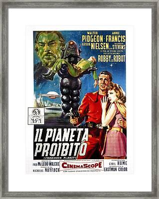 Forbidden Planet, Aka Il Pianeta Framed Print