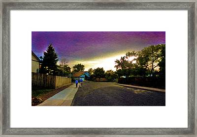 Forever Together Framed Print by Sergio Aguayo