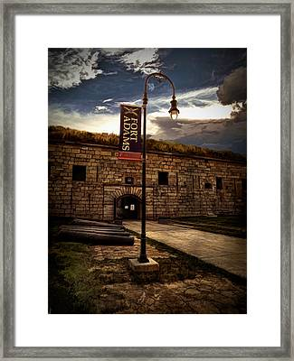 Fort Adams State Park Framed Print by Lourry Legarde