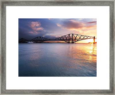 Forth Sunrise Framed Print by Keith Thorburn LRPS AFIAP CPAGB