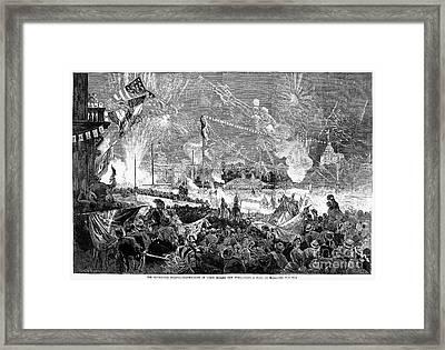 Fourth Of July, 1876 Framed Print by Granger