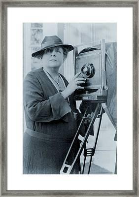 Frances Benjamin Johnston 1854-1951 Framed Print