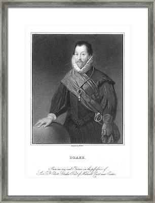 Francis Drake (1540?-1596) Framed Print by Granger