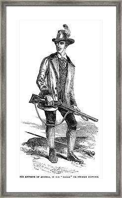 Francis Joseph I (1830-1916) Framed Print by Granger