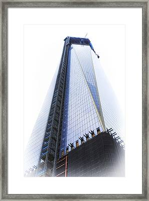 Freedom Tower Framed Print by Vicki Jauron