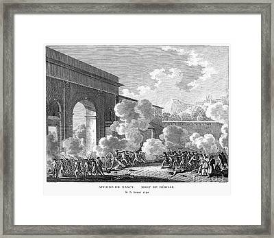 French Revolution, 1790 Framed Print by Granger
