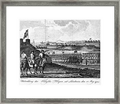 French Revolution, 1794 Framed Print by Granger