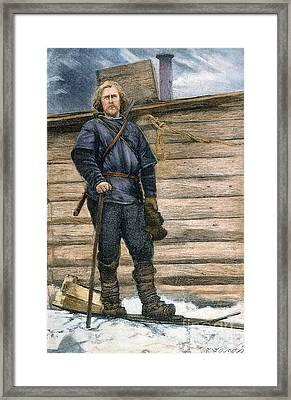 Fridtjof Nansen (1861-1930) Framed Print by Granger