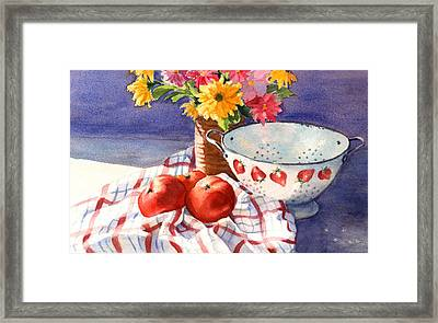 From The Farmstand Framed Print by Vikki Bouffard