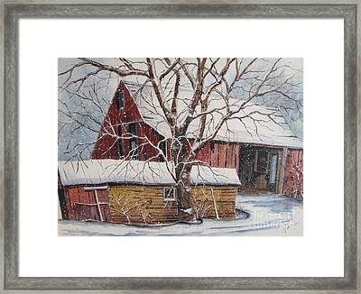 From The Past Framed Print by Louise Peardon