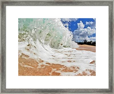 Frothy Framed Print by Paul Topp