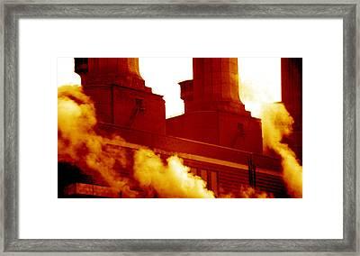 Fulham Power Station Framed Print