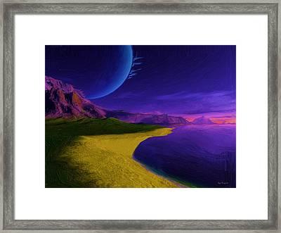 Full Moon Framed Print by Wayne Bonney