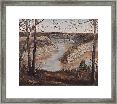 Full Of Spring Framed Print