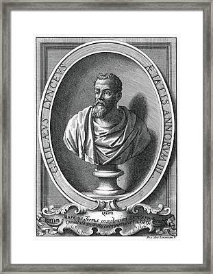 Galileo Galilei, Italian Astronomer Framed Print by Humanities & Social Sciences Librarynew York Public Library