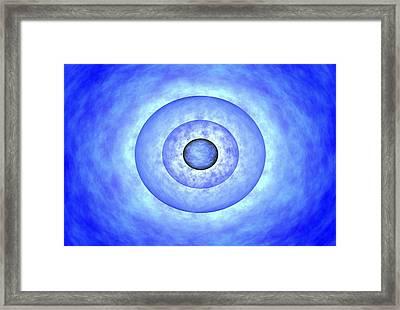 Gamma Ray Burst Formation Framed Print by Nasa
