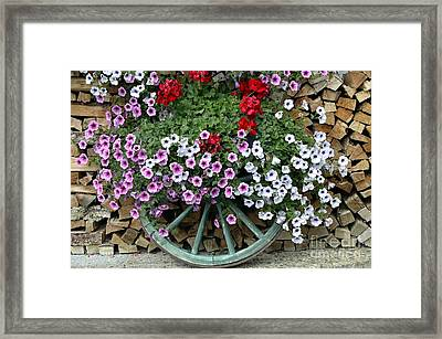 Garden Decor Framed Print