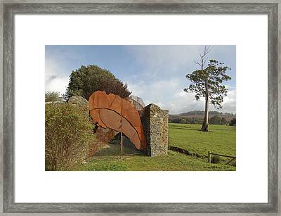 Gates Of Hell Framed Print by Sarah King