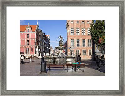 Gdansk Old Town Framed Print by Artur Bogacki