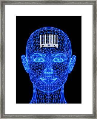 Genetic Individuality Framed Print by Pasieka
