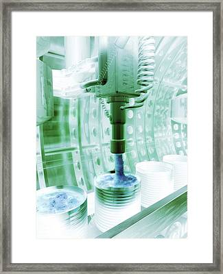 Genetically Modified Food Framed Print