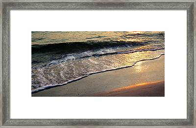 Gentle Tide Framed Print