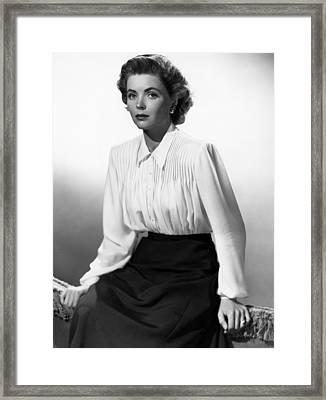 Gentlemans Agreement, Dorothy Mcguire Framed Print