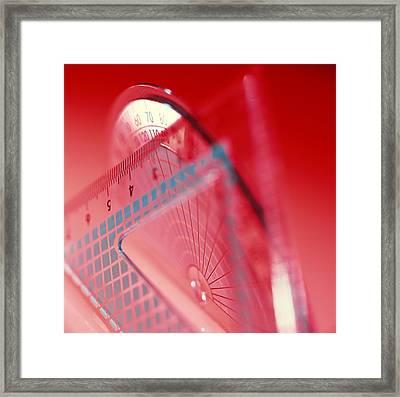 Geometry Set Framed Print by Tek Image
